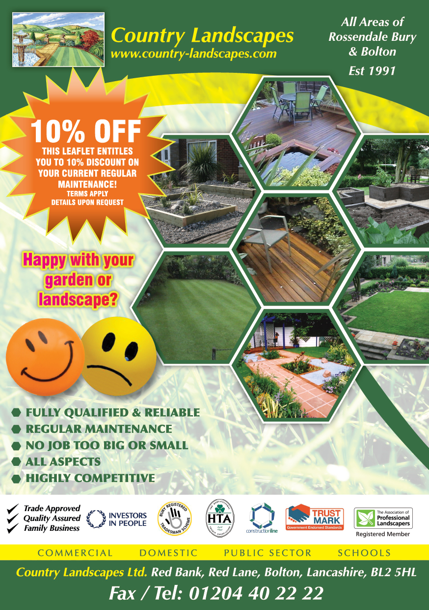 Qualified Garden and Grounds Maintenance Services from Country
