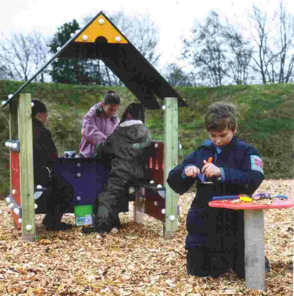 Promoting links to nature, areas for free play and adventure