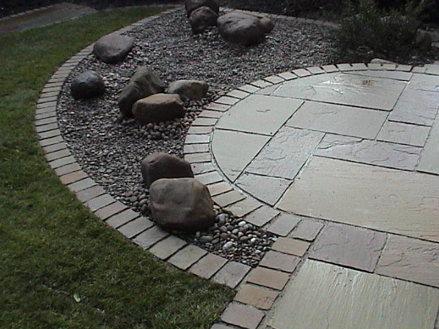 Garden Stone Circles Garden in classic style stone circles yor stone walling edging garden in classic style stone circles yor stone walling edging setts and indian natural stone paving workwithnaturefo